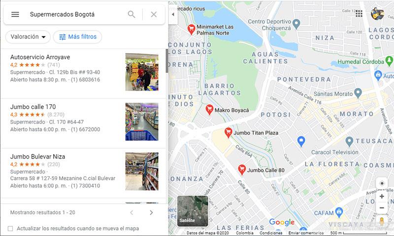 Trucos de Google en Google Maps
