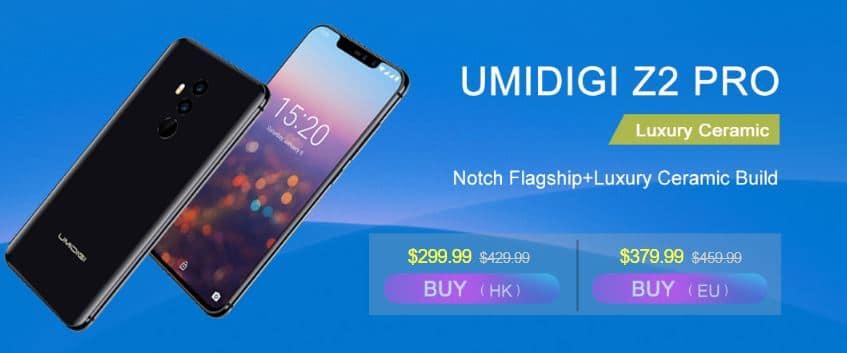 Umidigi Umi Z2 Pro Coolicool