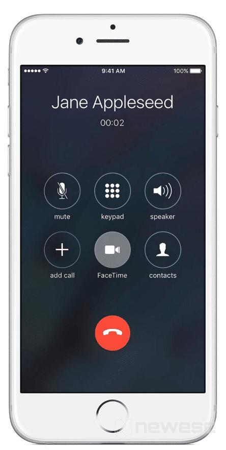 Usar el correo de voz propio para grabar llamadas en iPhone