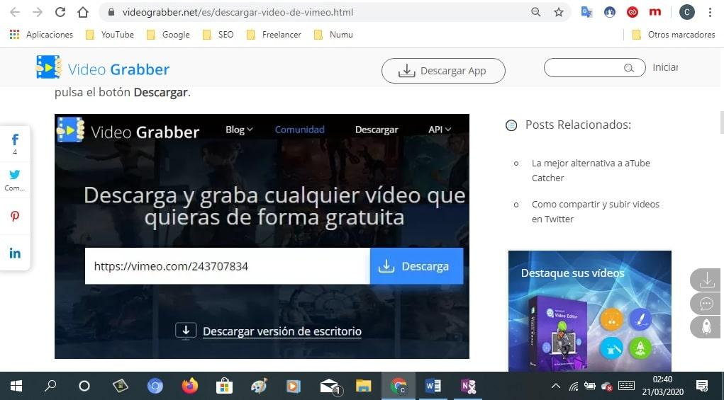 Vídeo Grabber 1