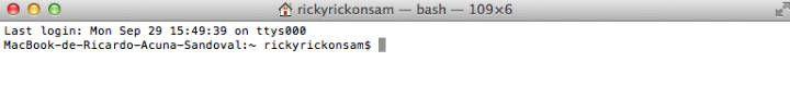 Ventana terminal para grabar imagen ISO en USB
