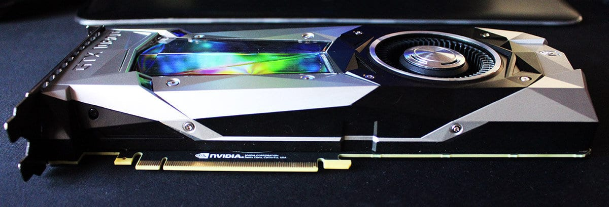 Vista general Nvidia 1080 Ti Founders Edition NewEsc