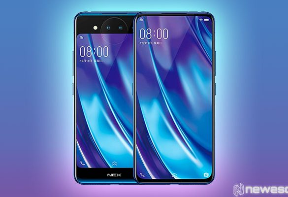 Vivo NEX Dual Display dispositivo wallpaper