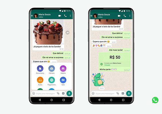 WhatsApp Pagos Brazil