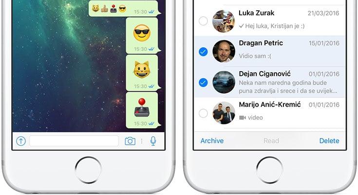 WhatsApp dual SIM para iPhone