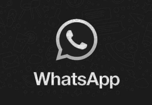 WhatsApp tema oscuro