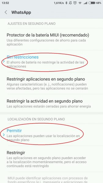 Whatsapp MIUI