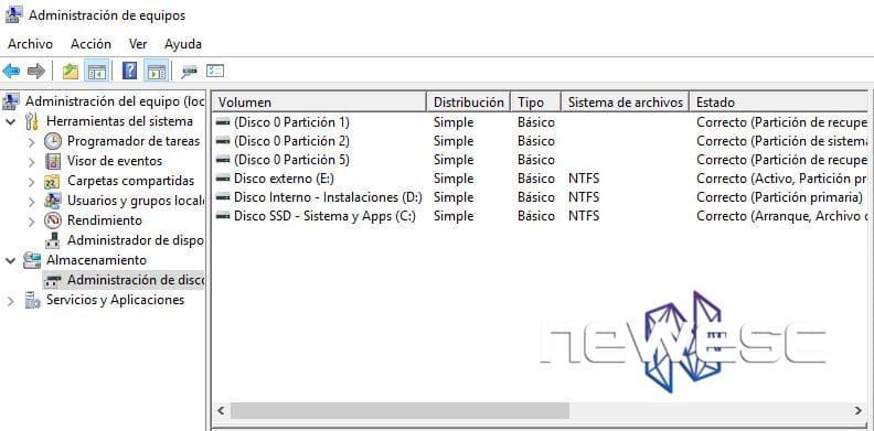 Windows 10 no reconoce el USB - Particionar la unidad USB y asignarle una letra