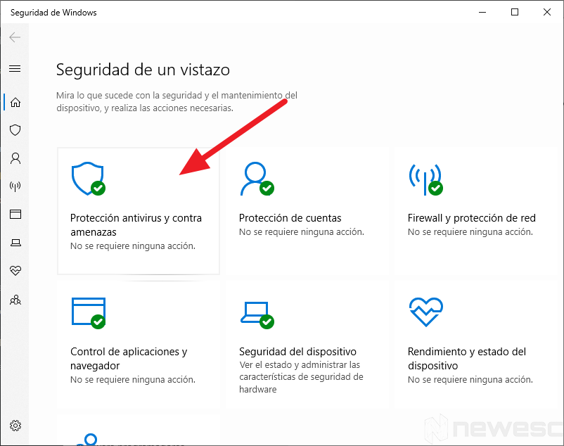 Windows defender para limpiar el ordenador2
