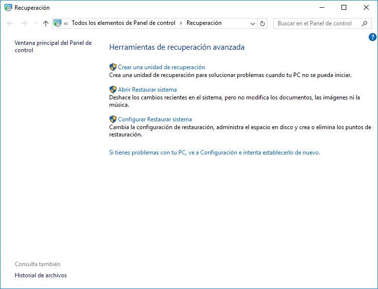 X formas de iniciar Windows 10 en modo seguro - 5.1