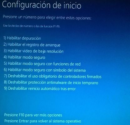 X formas de iniciar Windows 10 en modo seguro - 8