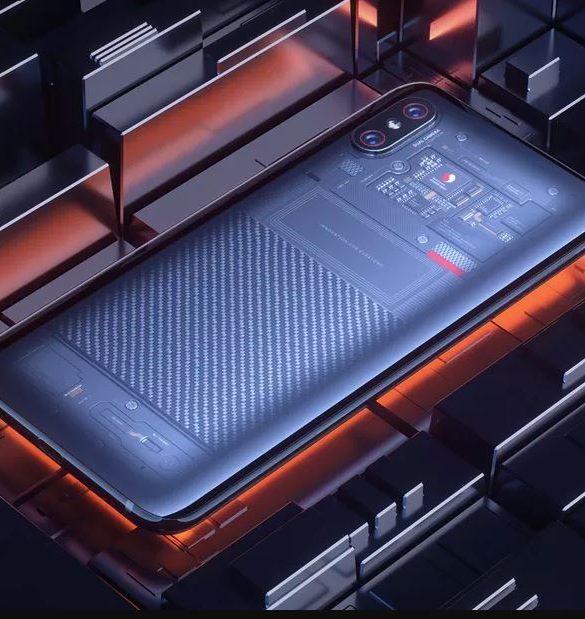 Xiaomi Mi 8 Explorer Edición Limitada Transparente No Tan