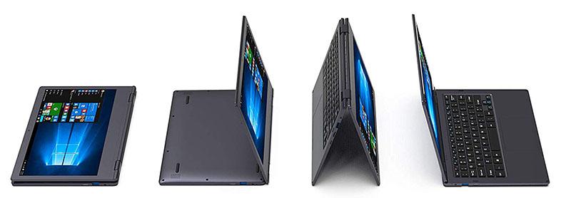 XIDU PhilBook Pro 2019 diseño posiciones