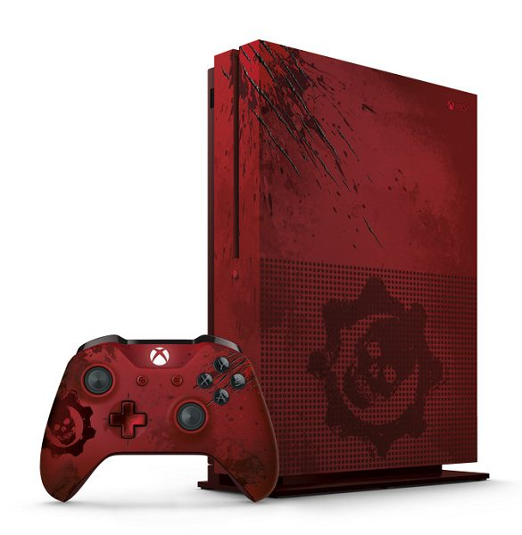 Xbox One S Gears of War 4