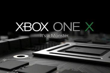 Xbox One X Portada