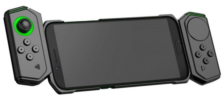 Xiaomi Black Shark Gamepad 2.0 en el smartphone
