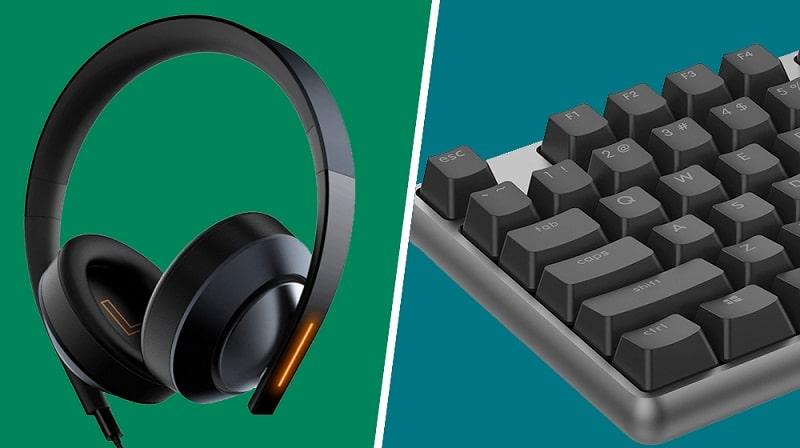 Teclado y auriculares gaming de Xiaomi a precio accesible