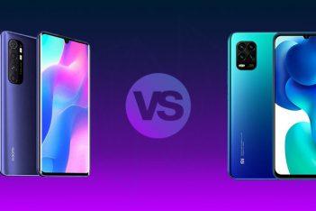 Xiaomi Mi 10 Lite vs Mi Note 10 Lite