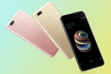 Xiaomi Mi 5X presentación