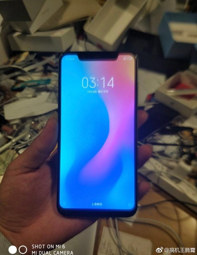 Xiaomi Mi 7 fotos weibo