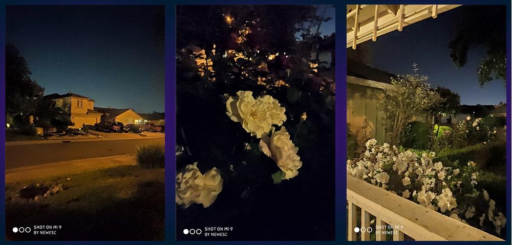 Xiaomi Mi 9 Fotos Nocturnas con Stock