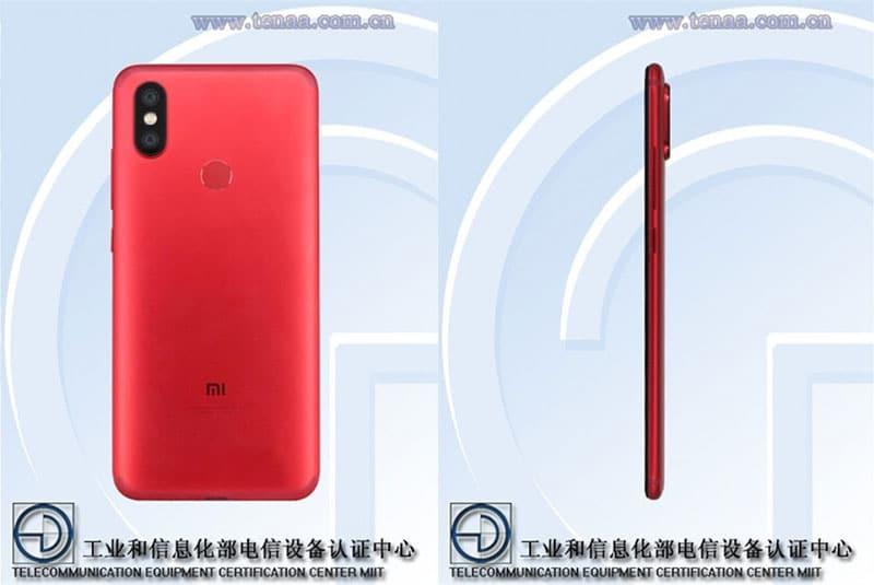 Xiaomi Mi A2 6X en TENAA