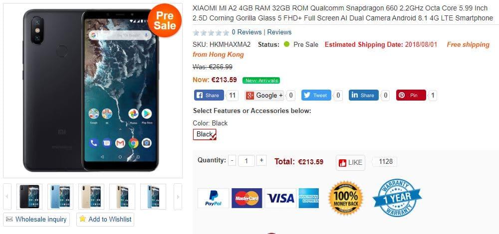 Xiaomi Mi A2 - Coolicool 2