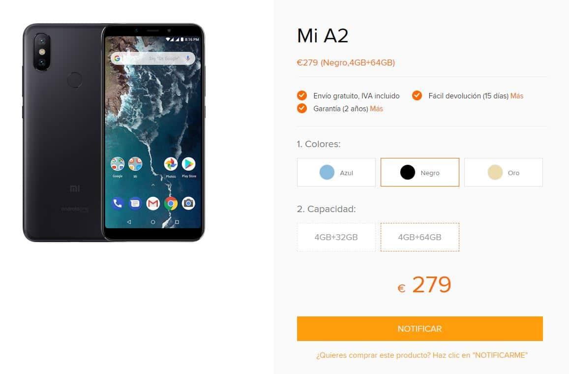 Xiaomi Mi A2 - Tienda oficial de Xiaomi