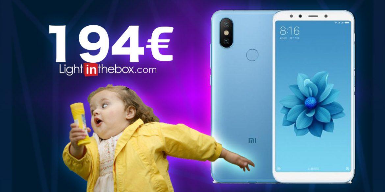 Xiaomi Mi A2 a 194€