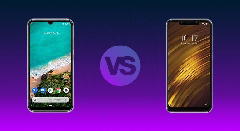 Xiaomi Mi A3 vs Pocophone F1