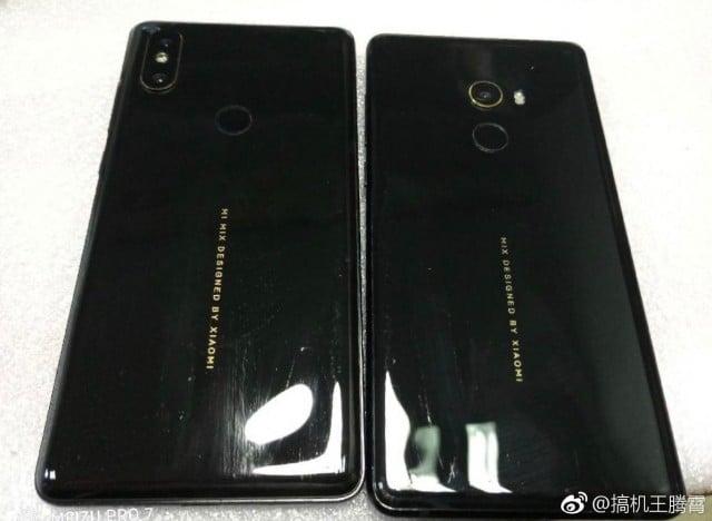 Xiaomi Mi Mix 2S cámara trasera filtración