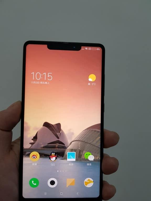 Xiaomi Mi Mix 2s rumores diseño 2