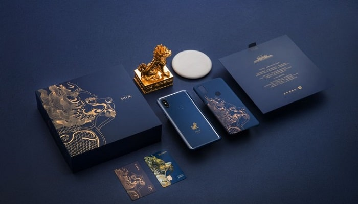 Xiaomi Mi Mix 3 Forbidden City Edition complementos adicionales