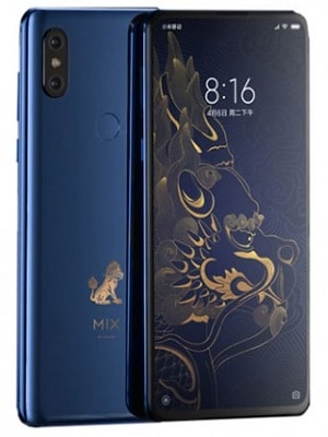 Xiaomi Mi Mix 3 Forbidden City Edition diseño