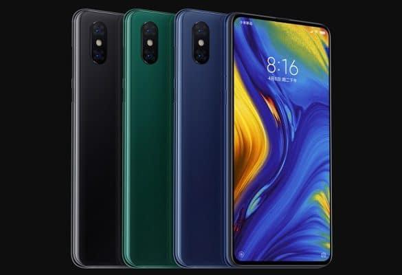 Xiaomi Mi Mix 3 colores