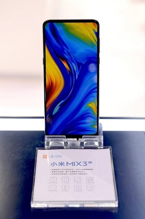 Xiaomi Mi Mix 3 con Snapdragon 855