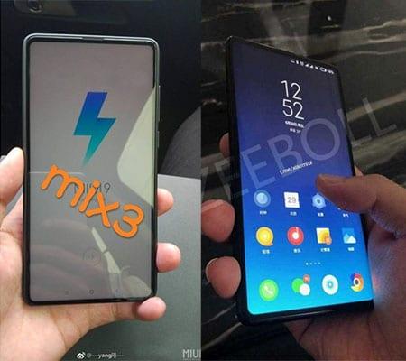 Xiaomi Mi Mix 3 rumores