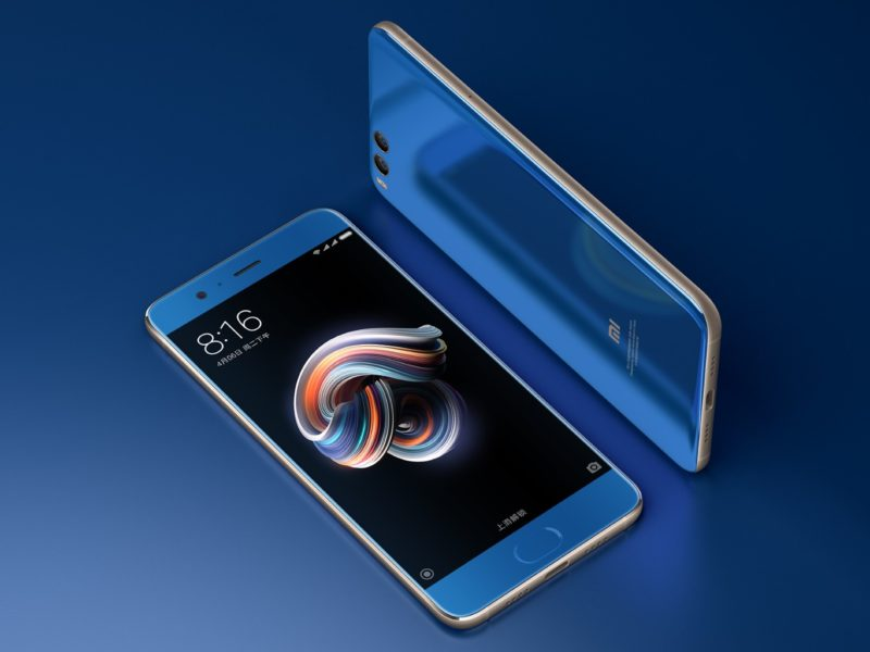 Xiaomi Mi Note 2 Diseño