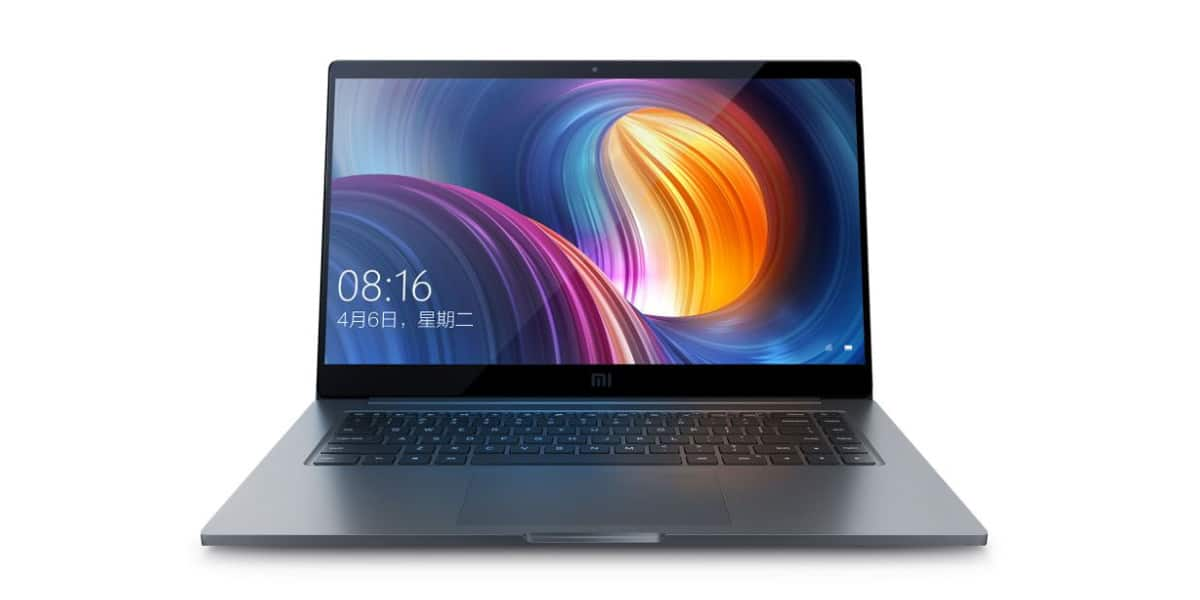 Xiaomi Mi Notebook Pro dispositivo