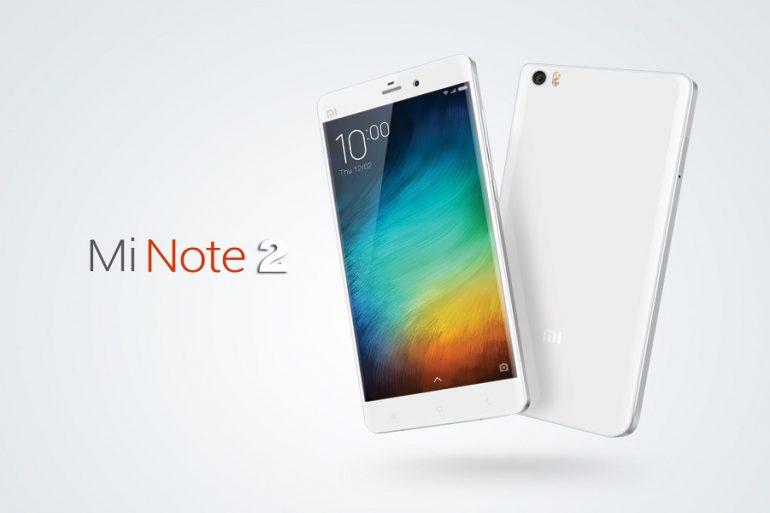 Xiaomi Mi note 2 portada