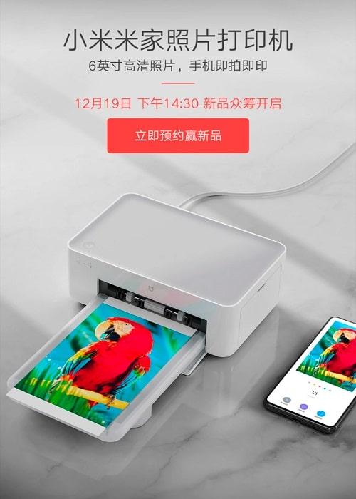 Xiaomi Mijia impresora Promo