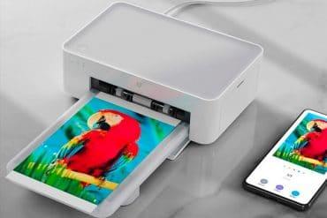 Xiaomi Mijia impresora diseño promocional