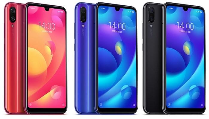 Xiaomi Play diseño y colores