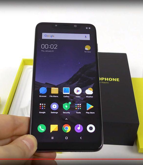 Xiaomi Pocophone F1 unboxing