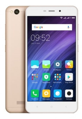 XiaomiRedmi4a mejores moviles chinos