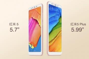 Xiaomi Redmi 5 y 5 Plus Portada
