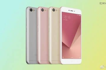 Xiaomi Redmi 5A con flash