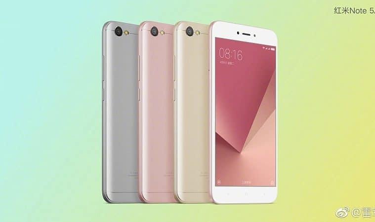 Xiaomi Redmi 5A con flash
