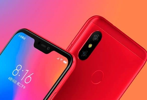 Xiaomi Redmi Note 6 Pro cámara