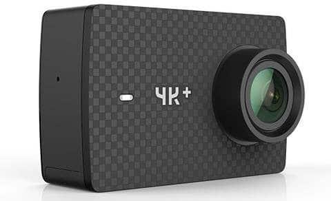 Xiaomi Yi 4K+ cámaras de acción baratas